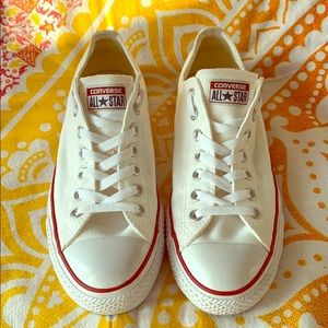 White Converse Chuck Taylor All Star Sneakers